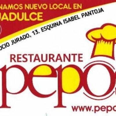 "Restaurante a domicilio ""Pepos"" - Calle Rocio Jurado esquina Isabel Pantoja - Aguadulce - Almeria - España"